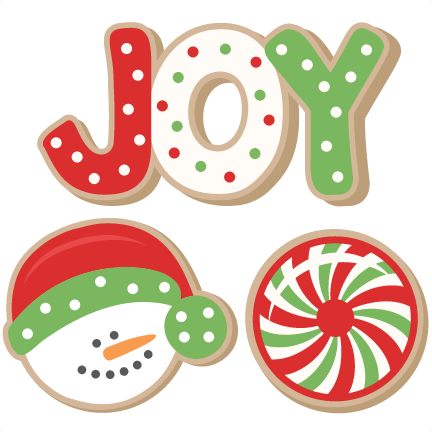 Christmas clipart sugar cookie  Christmas Collection Plate art