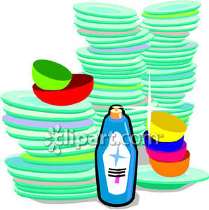 Plate clipart clean dish Images Clean Art Dishes Clip