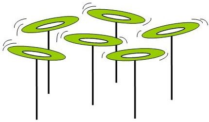 Plate clipart clip Cast City plates spinning Clip