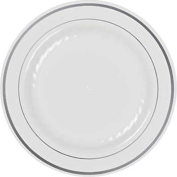 Plate clipart dining Plastic White & Plate ct