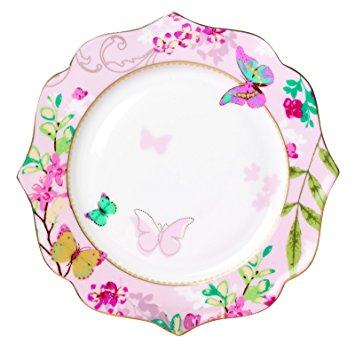 Plate clipart dining Butterfly Butterfly Vintage Jusalpha Inches