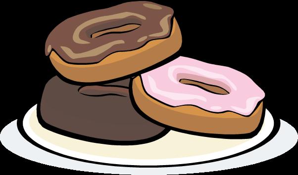 Dunkin Donuts clipart breakfast pastry Panda Clipart Art Doughnuts Free