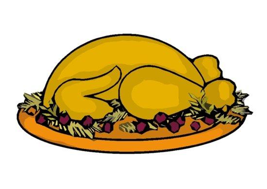 Turkey clipart thanksgiving feast #4