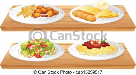 Denmark clipart food tray Four csp13259517 of Two