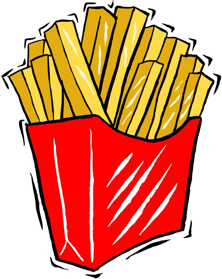 French Fries clipart one french French  Clip Fries Clip