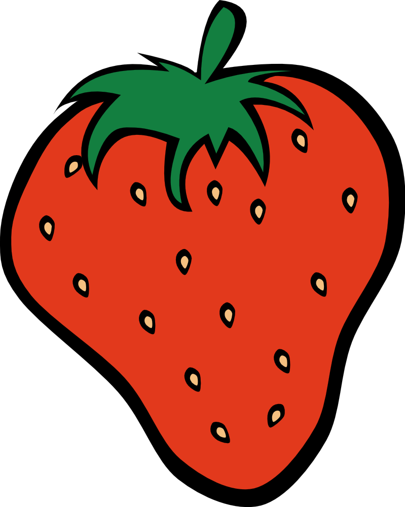 Pice clipart red fruit #14