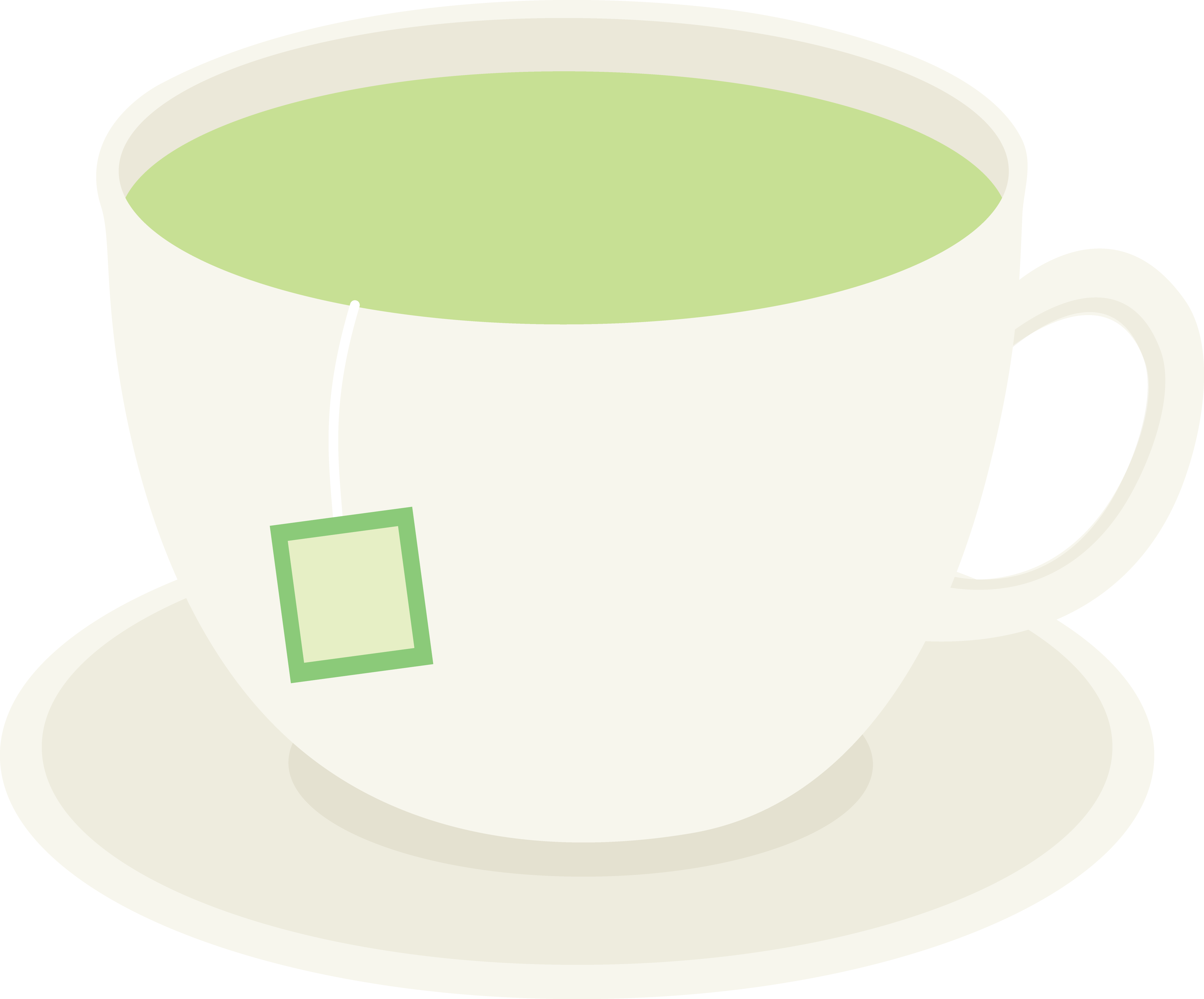 Teacup clipart transparent Green Healthy Art Cup Green