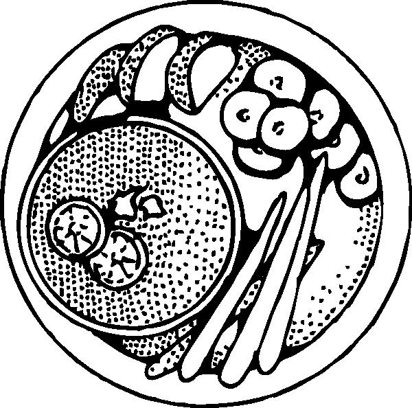 Plate clipart large Download vector Clip Symbols art