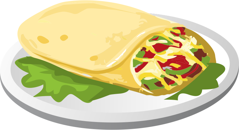 Plate clipart mexican food Mexican clipart Zone png food