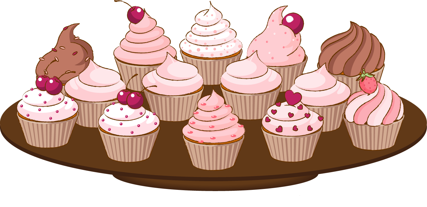 Plate clipart muffin #8
