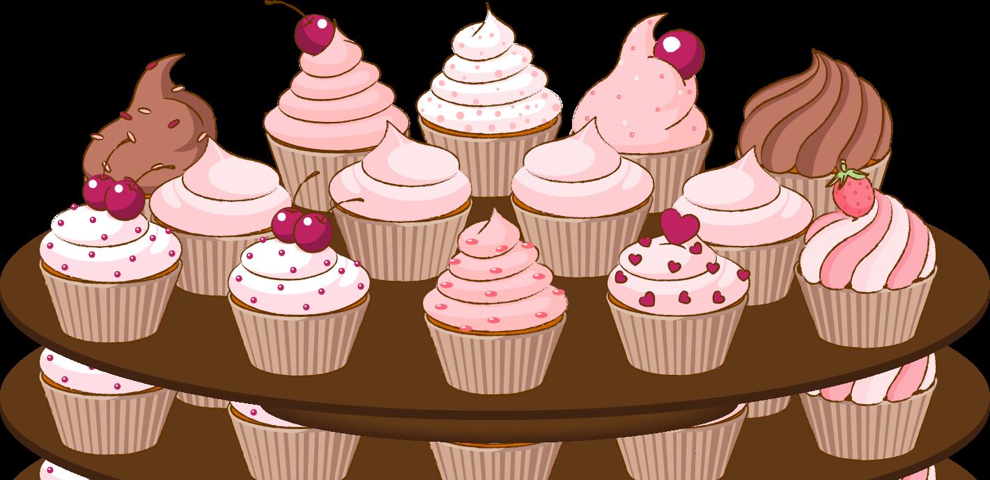 Plate clipart muffin Com Cliparting clipart Cupcake art