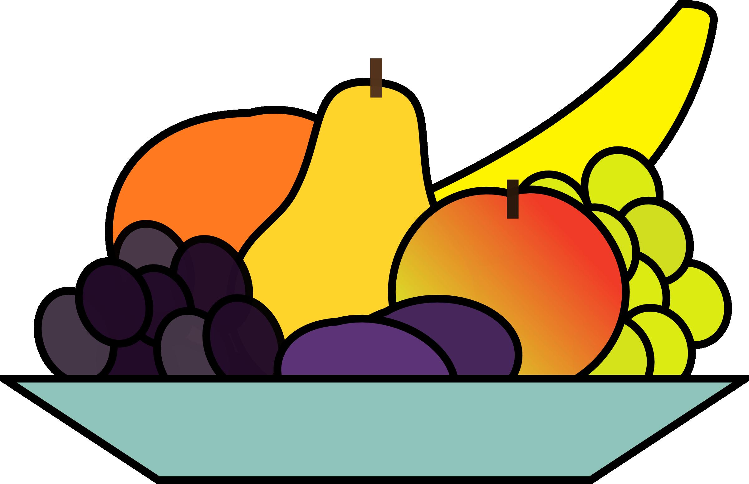 Plate clipart plate bowls Fruit Plate Clipart Clipart Panda
