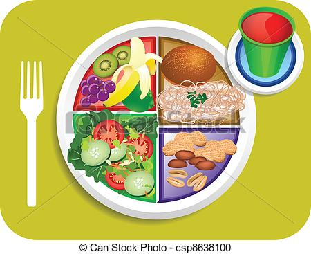 Breakfast clipart meal Food Food Of Plate a
