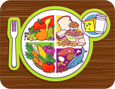 Grain clipart healthy food Pinterest Plate Clip Healthy Art