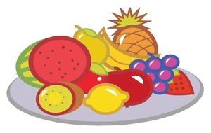 Fresh clipart fruit platter Platter Fruit Platter Clipart Clipart
