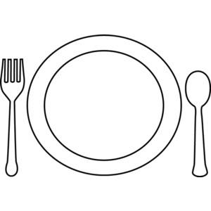 Cutlery clipart food platter Clipart Zone Cliparts Platter Meal