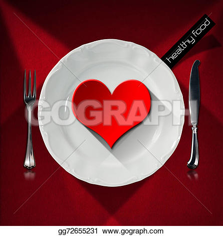 Cutlery clipart healthy food Drawing and Drawing healthy plate