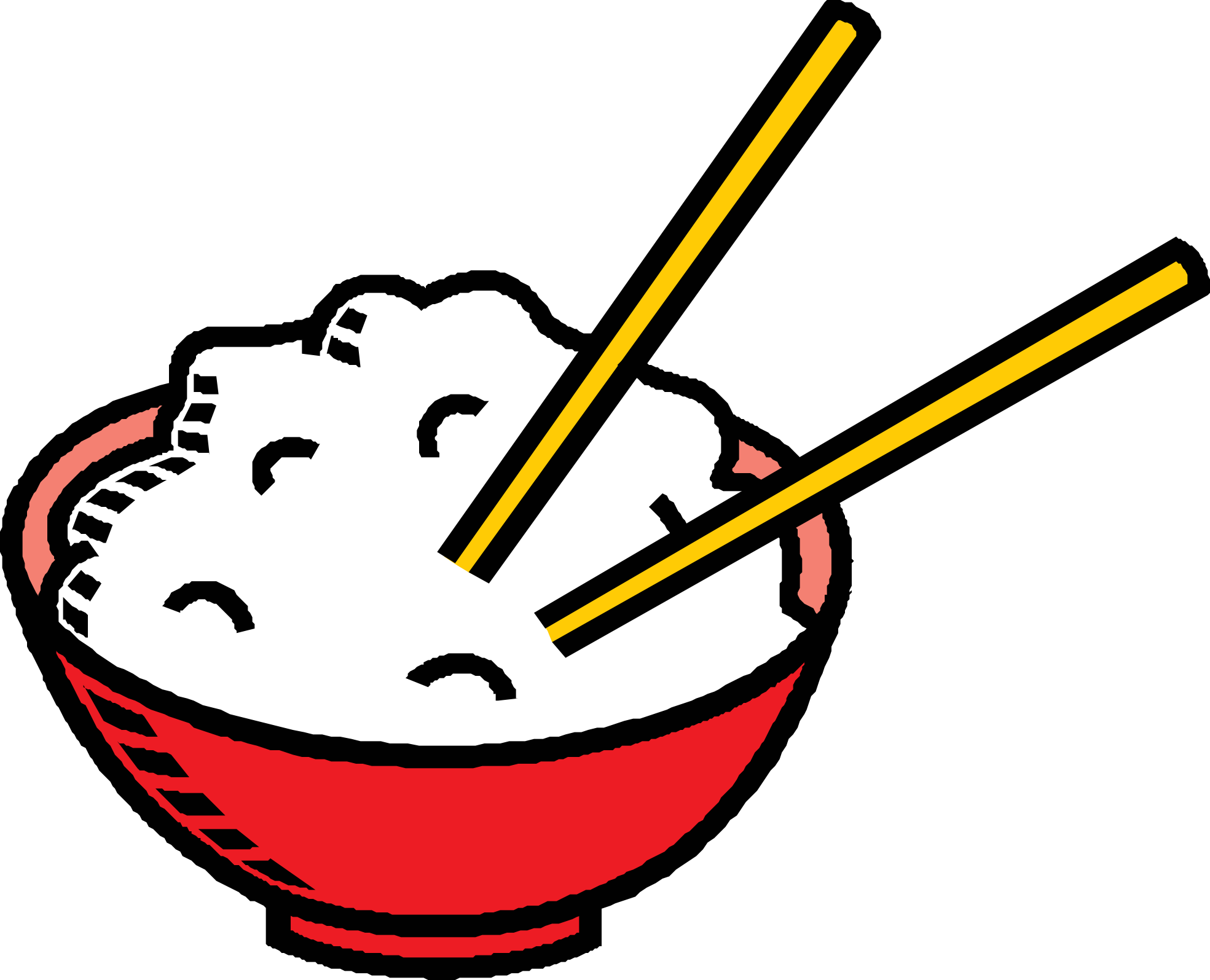 Bowl clipart chicken and rice #2