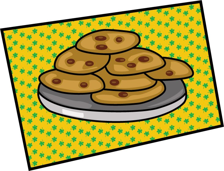 Biscuit clipart plate cookie Background Cookie Clipart collection Panda