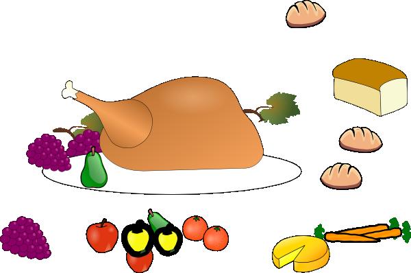 Plate clipart thanksgiving dinner At Clker vector art online