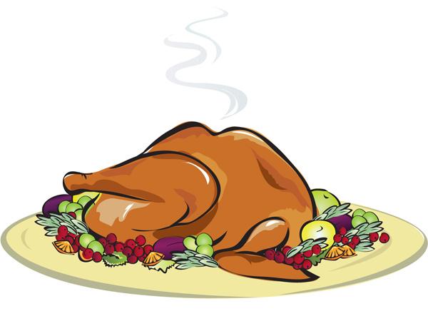 Plate clipart thanksgiving dinner For MyReporter com restaurants serving