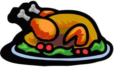 Turkey clipart plate #6