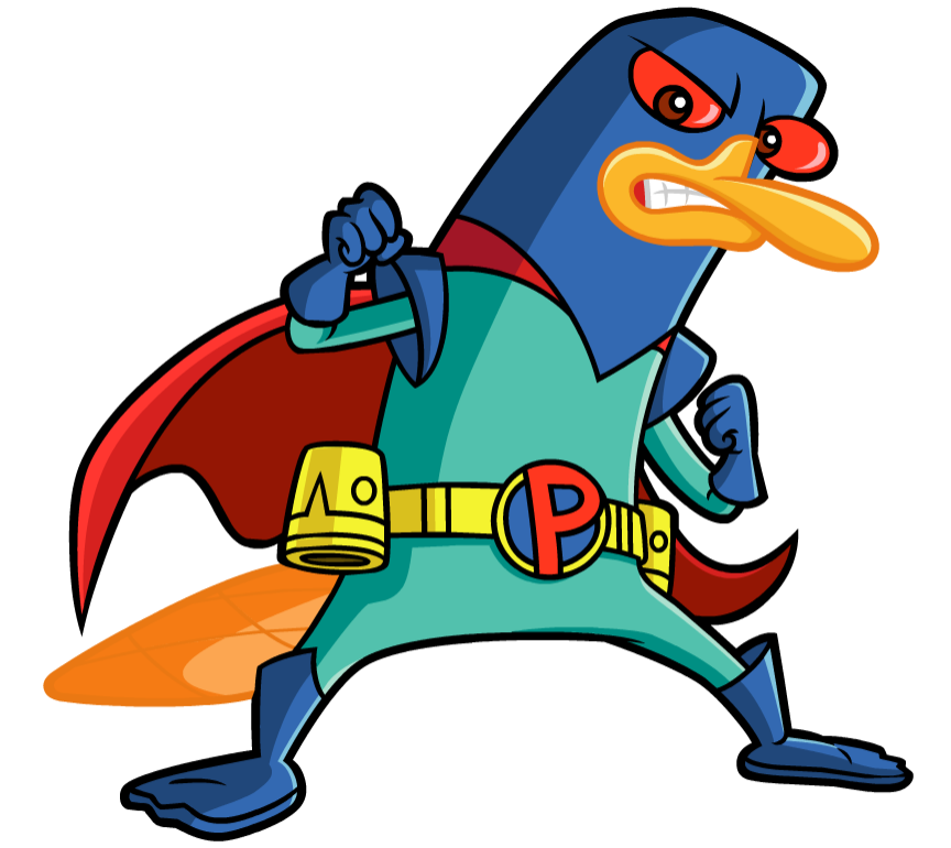 Platypus clipart foot DisneyWiki Free  Perry Download