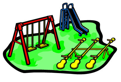 Cartoon clipart playground Clipart Free School clipart playground