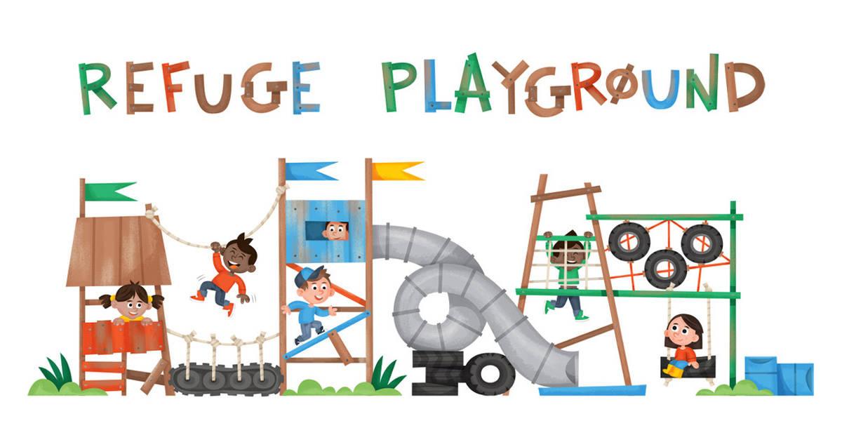 Playground clipart adventure playground #7