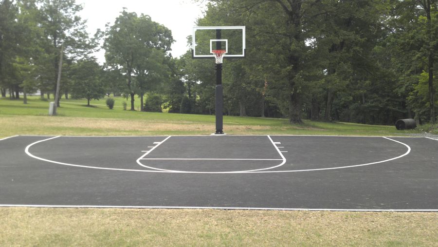 Playground clipart basketball goal Court front System Hercules Diamond