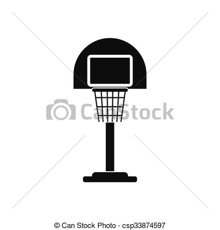 Playground clipart basketball goal A Royalty on Icon