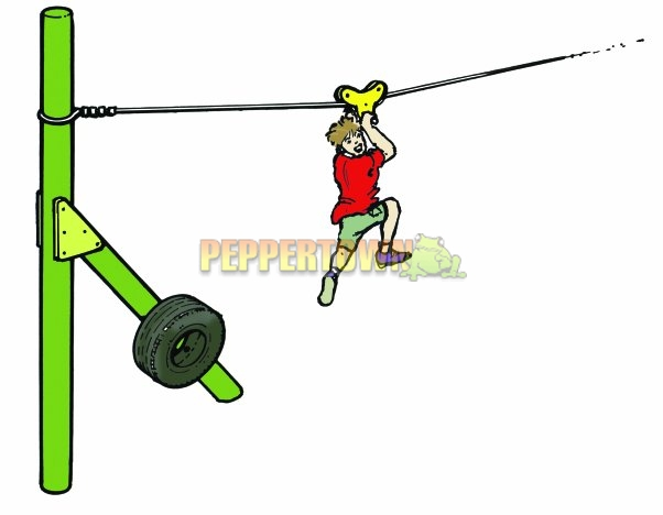 Playground clipart flying fox #6