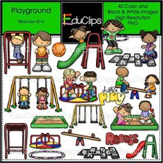Playground clipart melonheadz Bundle art clip royalty free