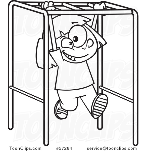 Playground clipart outline #8