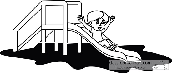 Playground clipart outline #5