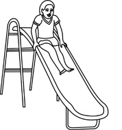 Playground clipart outline #11