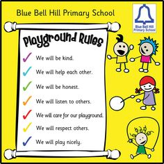 Playground clipart pre k Playground tips Board safety Tess