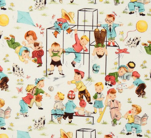 Playground clipart vintage Michael children Miller Michael Children