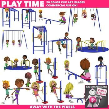 Playground clipart word Clip 28 images Actions Art