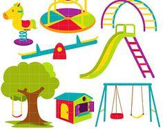 Playground clipart word Best Playground play art Children