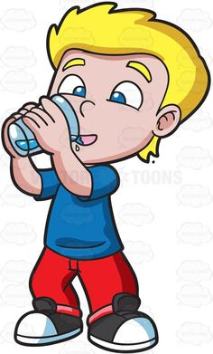 Please clipart may i drink water Water Thirsty Water A Boy