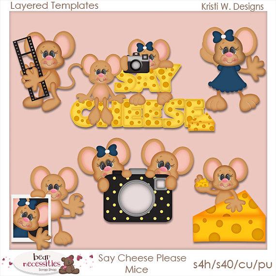 Please clipart say cheese Please PSD Kristi 00