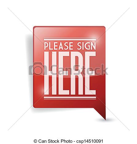 Please clipart sign here Pin illustration  here marker