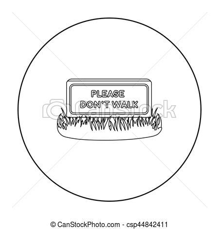 Please clipart walk Symbol  icon style in