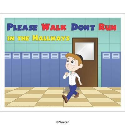 Please clipart walk Education Run Don't  Please