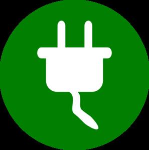 Plug clipart Clip Plug Green Plug vector
