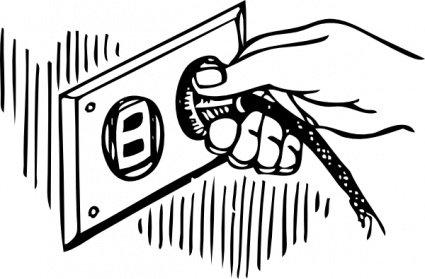 Plug clipart Plug Plug Wall Switch Pull