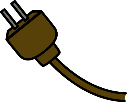 Plug clipart electric wire #5