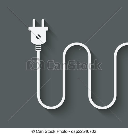 Plug clipart electric wire #1