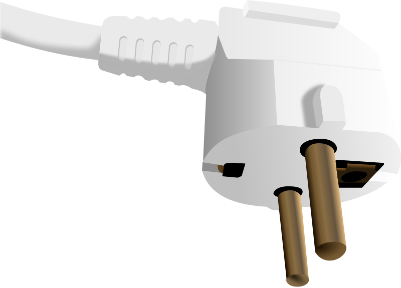 Plugged clipart electrical installation  Plug Clip Free Electrical